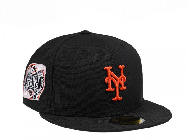 New Era New York Mets Subway Series Black and Pink Edition 59Fifty Fitted Cap