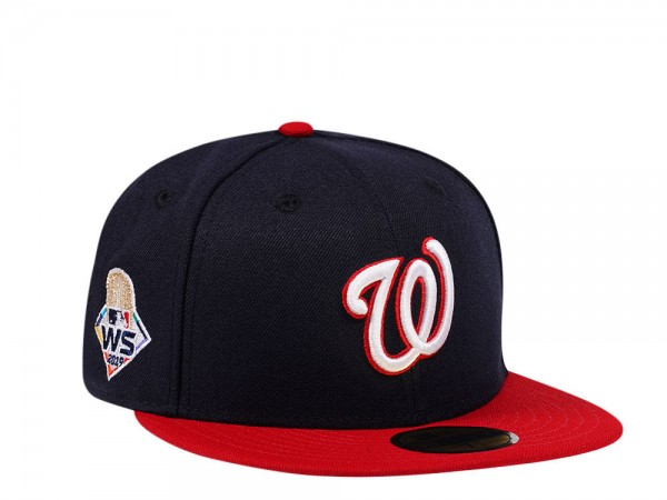 New Era Washington Nationals World Series 2019 Two Tone Edition 59Fifty Fitted Cap