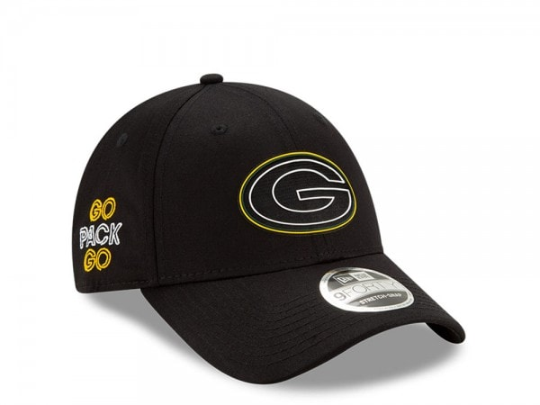 New Era Green Bay Packers NFL Draft 20 9Forty Stretch Snapback Cap