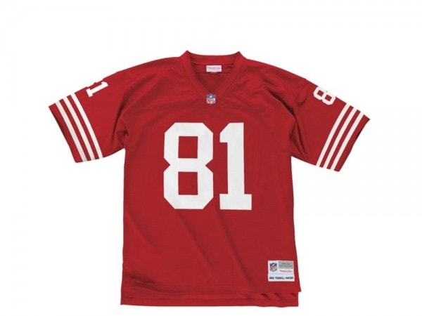 Mitchell & Ness San Francisco 49ers - Terrell Owens Legacy Nfl Replica 2002 Jersey