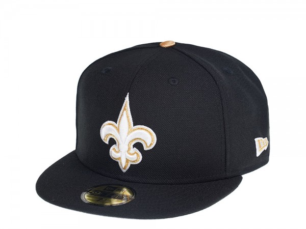 New Era New Orleans Saints Black and Gold Edition 59Fifty Ftited Cap