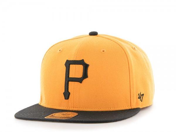47Brand Pittsburgh Pirates Heritage Captain Snapback Cap