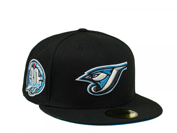 New Era Toronto Blue Jays 30th Season Black and Blue 59Fifty Fitted Cap