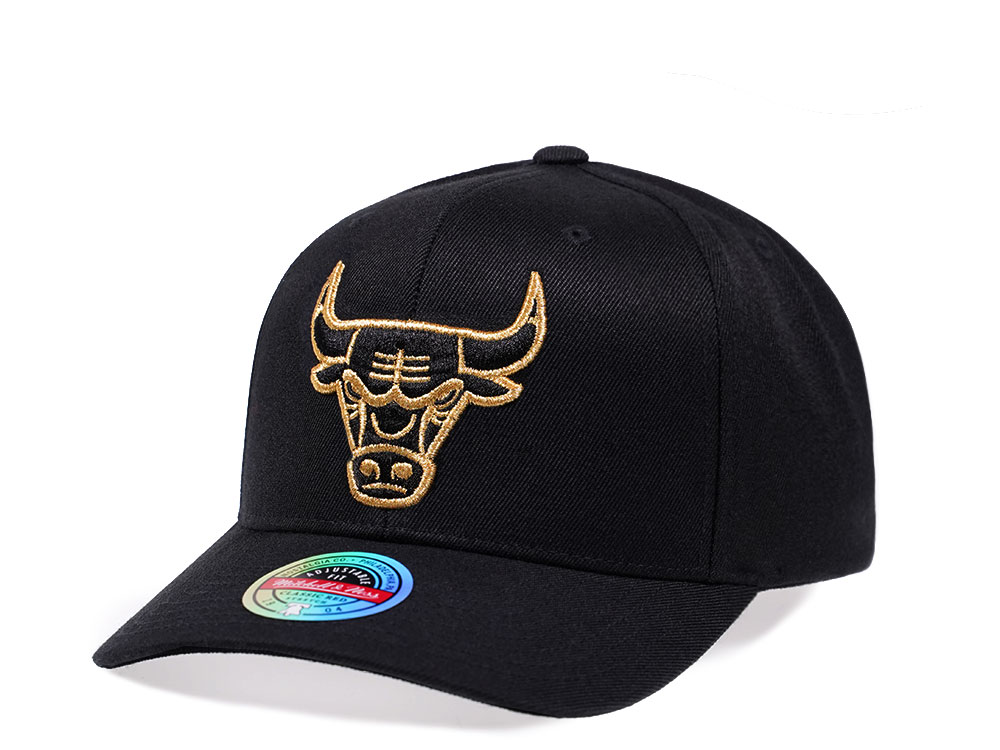 Mitchell & Ness Chicago Bulls Pure Gold Edition Red Line ...
