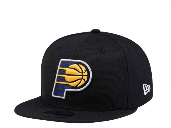 New Era Indiana Pacers Black Edition 9Fifty Snapback Cap