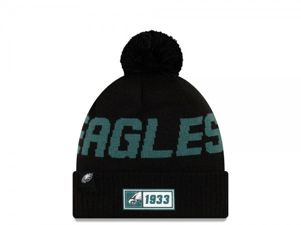New Era Philadelphia Eagles Sideline 2019 Road Reversible Color Mütze