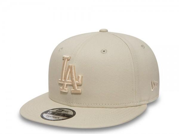 New Era Los Angeles Dodgers all Creme Essential Snapback Cap