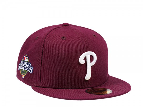 New Era Philadelphia Phillies World Series 2008 Maroon Edition 59Fifty Fitted Cap