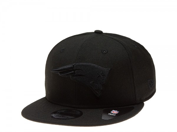 New Era New England Patriots All About Black Edition 9Fifty Snapback Cap