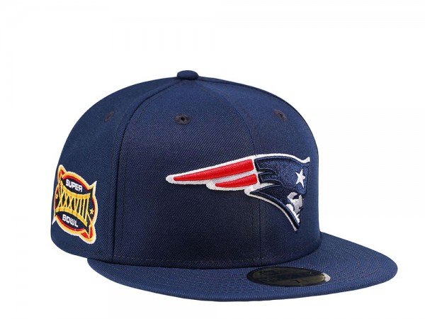 New Era New England Patriots Super Bowl XXXVIII Pink Edition 59Fifty Fitted Cap