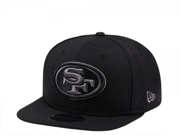 New Era San Francisco 49ers Original Fit Graphite Edition 9Fifty Snapback Cap