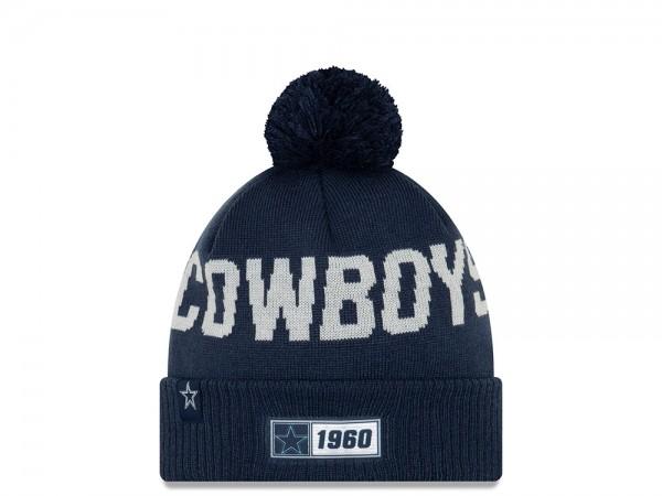 New Era Dallas Cowboys Sideline 2019 Road Mütze