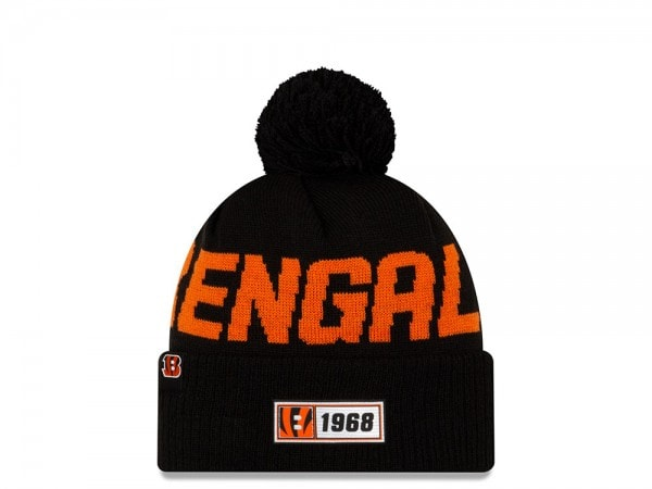 New Era Cincinnati Bengals Sideline 2019 Road Mütze