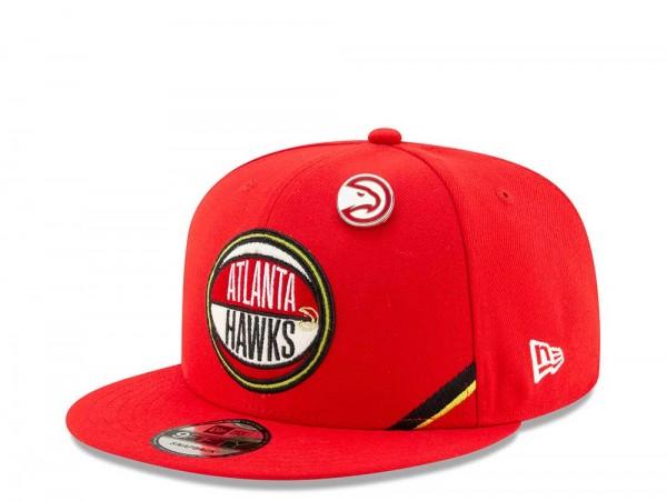 New Era Atlanta Hawks Draft 19 9Fifty Snapback Cap