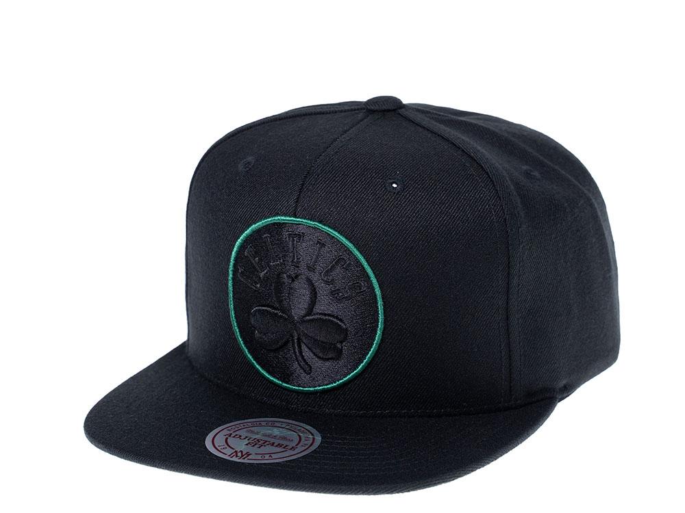 Mitchell /& Ness New Boston Celtics Snapback Hat Green//Black//Circled Gold /& Black