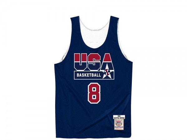 Mitchell & Ness Dream Team - Scottie Pippen Authentic Reversible Practice Jersey