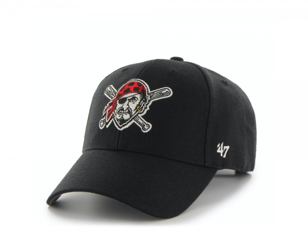 47Brand Pittsburgh Pirates Alternate MVP Strapback Cap