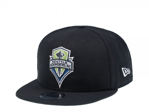 New Era Seattle Sounders FC Black Edition 9Fifty Snapback Cap