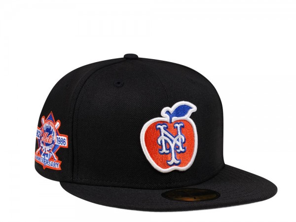 New Era New York Mets 25th Anniversary Apple Logo Edition 59Fifty Fitted Cap