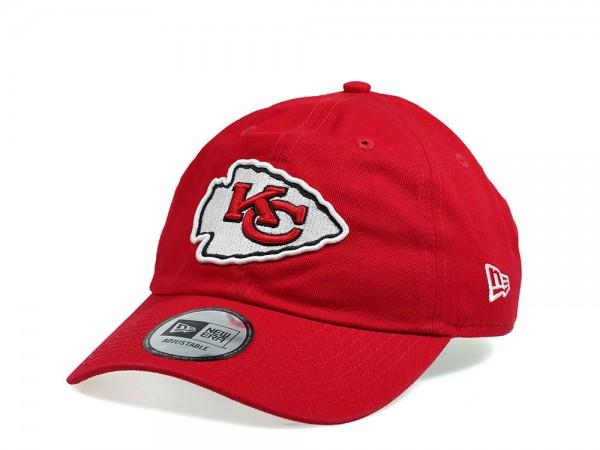 New Era Kansas City Chiefs Casual Dad Hat Strapback Cap