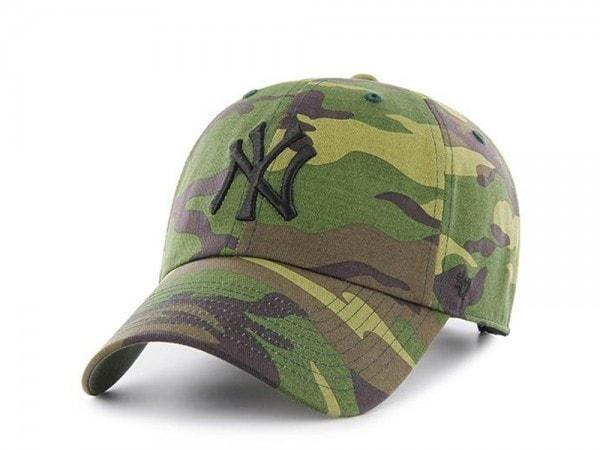 47brand New York Yankees  Clean Up Strapback Cap