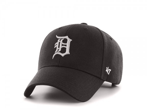 47brand Detroit Tigers Schwarz MVP Snapback