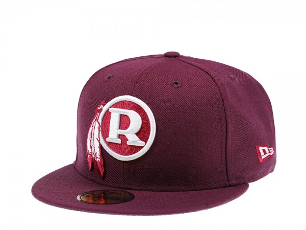 New Era Washington Redskins Maroon Edition 59Fifty Fitted Cap