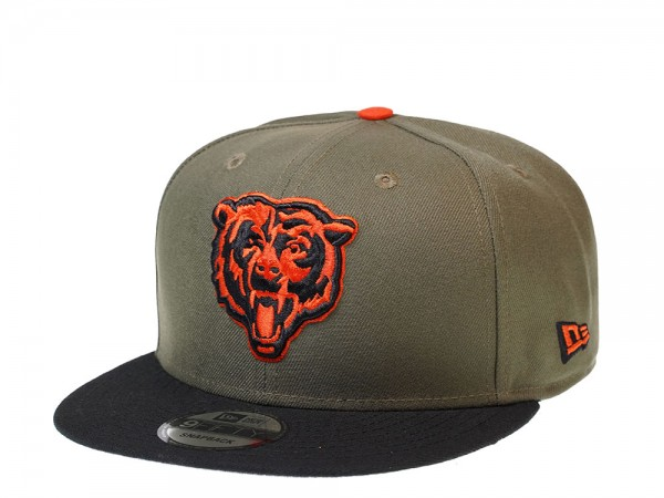 New Era Chicago Bears 2Tone Olive 9Fifty Snapback Cap