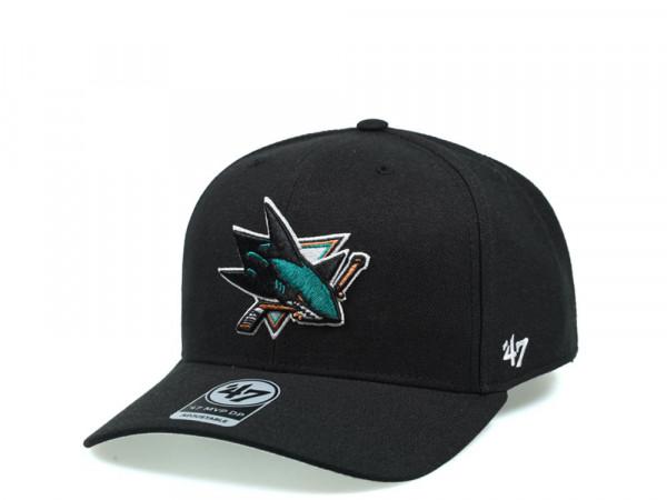 47Brand San Jose Sharks Cold Zone MVP DP Snapback Cap