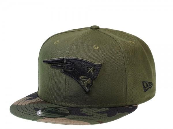 New Era New England Patriots Camo Green Edition 9Fifty Snapback Cap