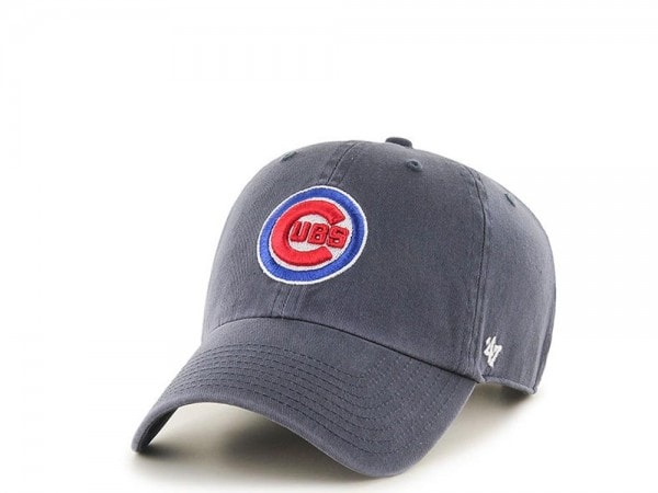 47brand Chicago Cubs Curved Clean up strapback Cap