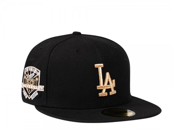 New Era Los Angeles Dodgers 50th Anniversary Gold Edition 59Fifty Fitted Cap