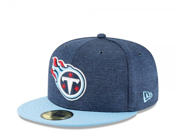 New Era Tennessee Titans Sideline Cap 2018 Home Fitted 59fifty