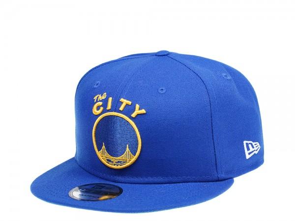 New Era Golden State Warriors Hardwood Classic Edition 9Fifty Snapback Cap