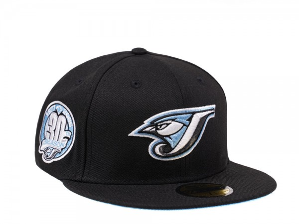 New Era Toronto Blue Jays 30th Anniversary Glacier Blue Edition 59Fifty Fitted Cap