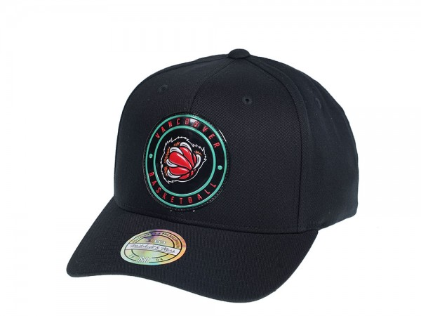 Mitchell & Ness Vancouver Grizzlies Weald Patch Flexfit 110 Snapback Cap