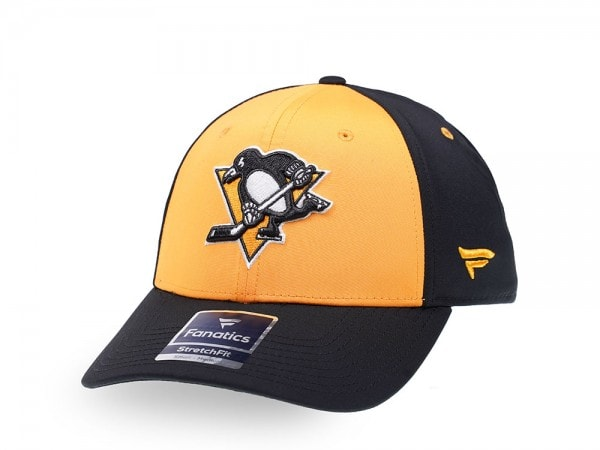Fanatics Pittsburgh Penguins Yellow Iconic Stretch Fit Cap