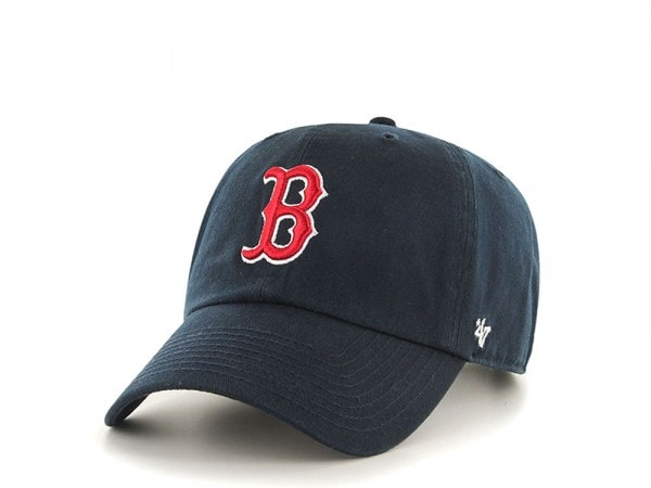 47brand Boston Red Sox Clean Up Curved Cap