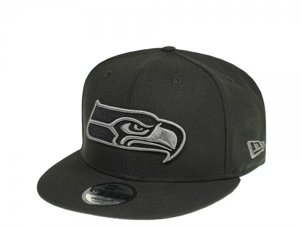 New Era Seattle Seahawks Dark Gray Edition 9Fifty Snapback Cap