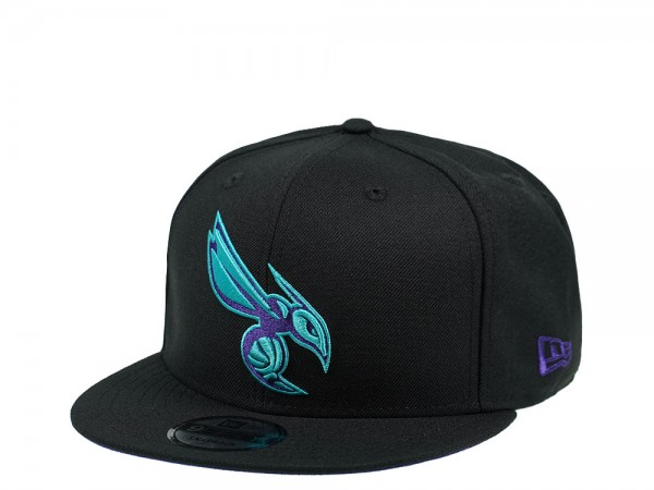 New Era Charlotte Hornets Purple Hornet Edition 9Fifty Snapback Cap