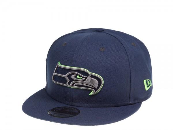 New Era Seattle Seahawks Blue Thunder