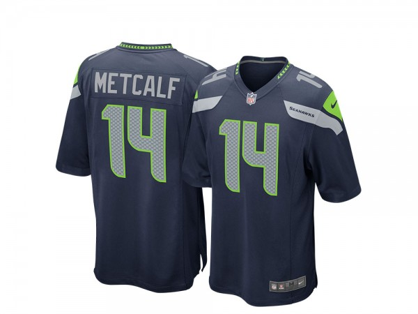 Nike Seattle Seahawks DK Metcalf Home Game NFL Jersey