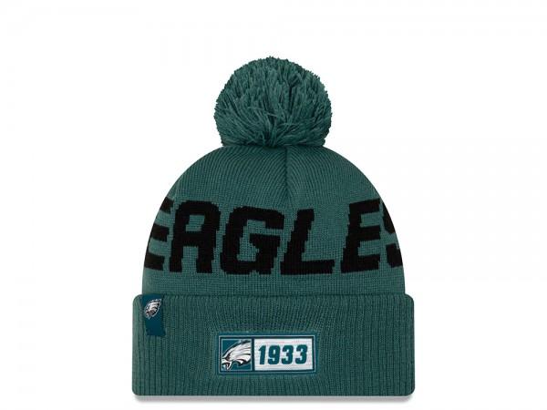 New Era Philadelphia Eagles Sideline 2019 Road Mütze