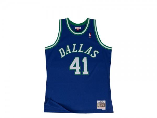 Mitchell & Ness Dallas Mavericks Dirk Nowitzki Swingman 2.0 1998-99 Jersey