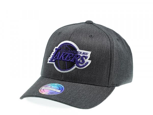 Mitchell & Ness Los Angeles Lakers Gray 110 Flex Snapback Cap