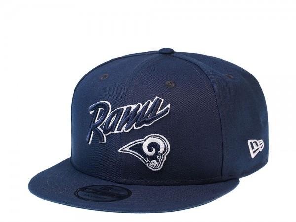 New Era Los Angeles Rams Oceanside Script Edition 9Fifty Snapback Cap