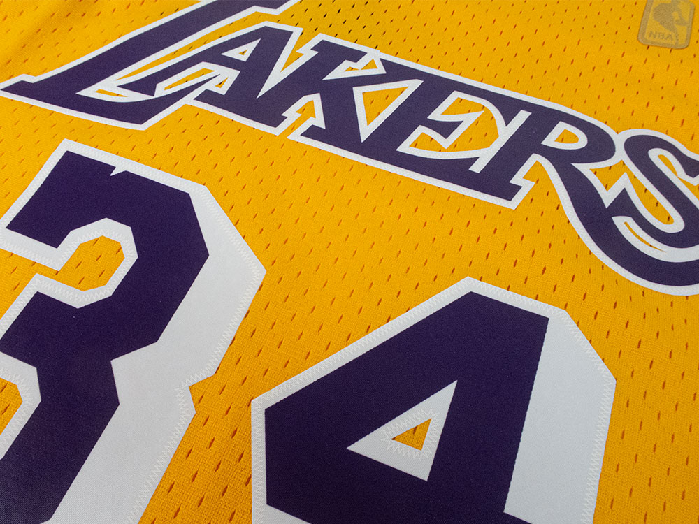 Mitchell & Ness Los Angeles Lakers - Shaquille O'Neal Swingman ...