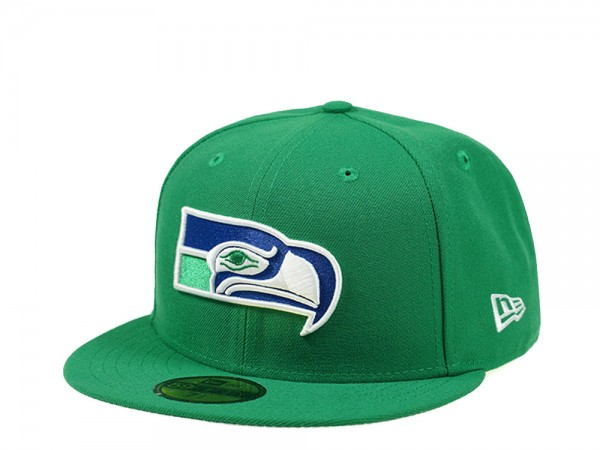 New Era Seattle Seahawks Throwback Classic Edition 59Fifty Fitted Cap