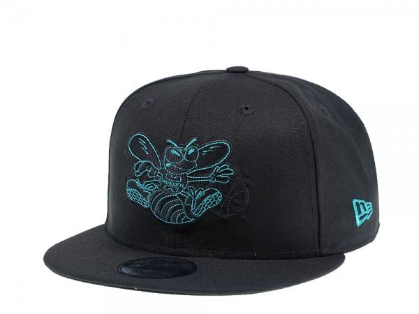 New Era Charlotte Hornets Detail Stitch 9Fifty Snapback Cap