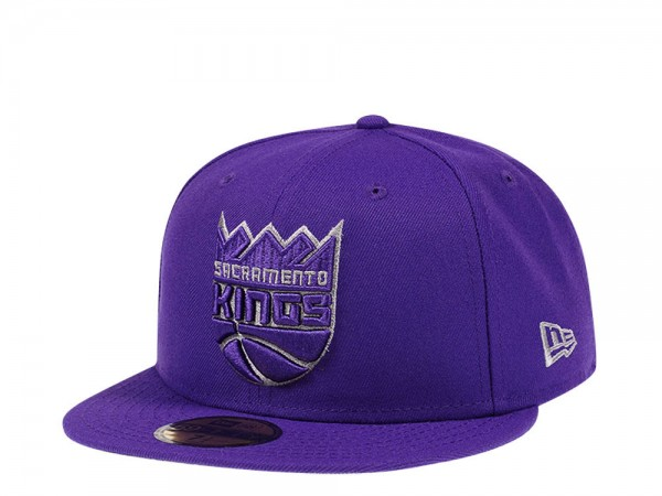 New Era Sacramento Kings Purple Edition 59Fifty Fitted Cap